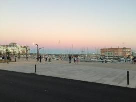 Hafenpromenade von La Coruña