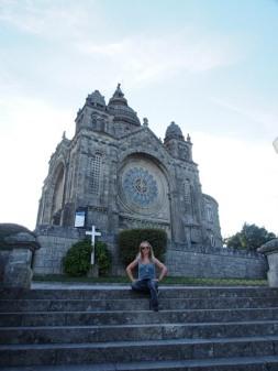 Hoch über den Dächern von Viana do Castelo