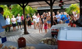 Welcome Party im Barbados Yacht Club