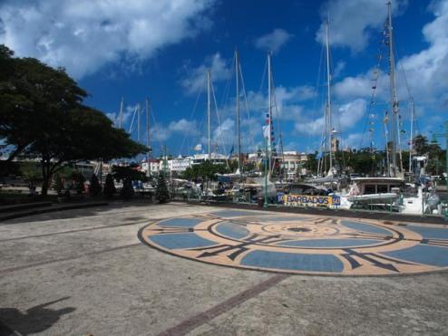 Atlantic Odyssey Flotte im Stadthafen von Bridgetown